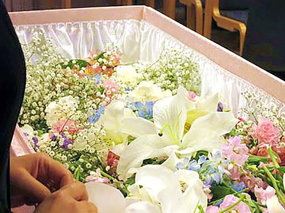 火葬式の施行例