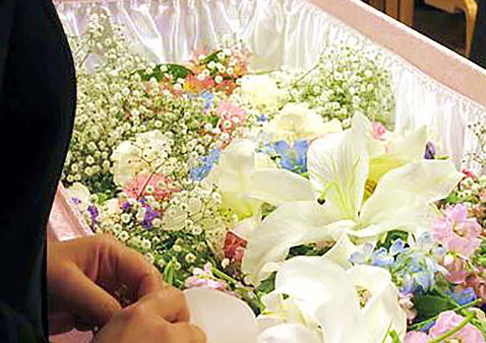 火葬式の施工例