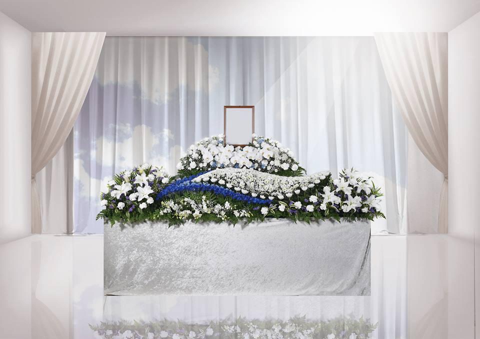 家族葬の施工例